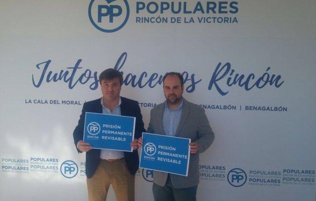 Avelino Barrionuevo Y Borja Ortiz Prisión Permanente Revisable Campaña De Firma
