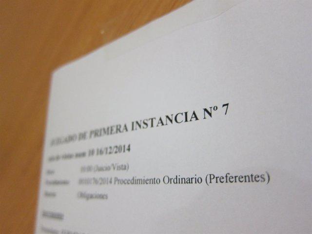 Juzgado de Preferentes de Cantabria