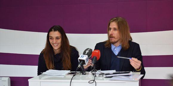 3. Podemos denuncia ante la Fiscalía las presuntas irregularidades del alumbrado público de León