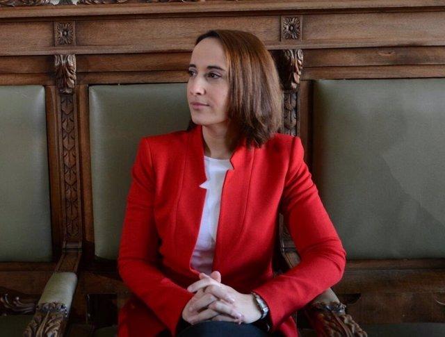 Pilar Vicente, portavoz de Cs en el Ayuntamiento.