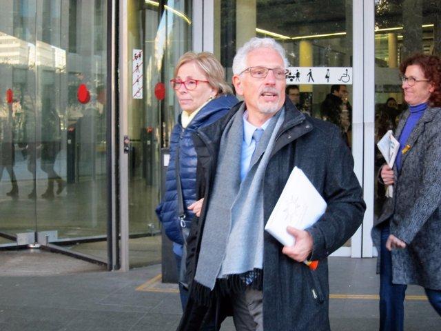 Santi Vidal, exjutge i exsenador d'ERC