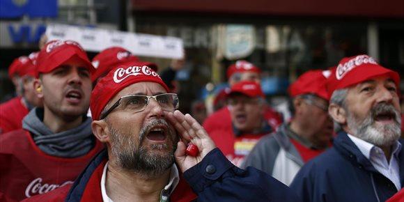 4. Coca-Cola llega a un acuerdo con trabajadores de Fuenlabrada para pagar complementos y regular antigüedad y categoría