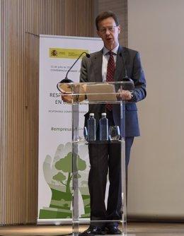 El director general de Calidad y Evaluación Ambiental, Javier Cachón