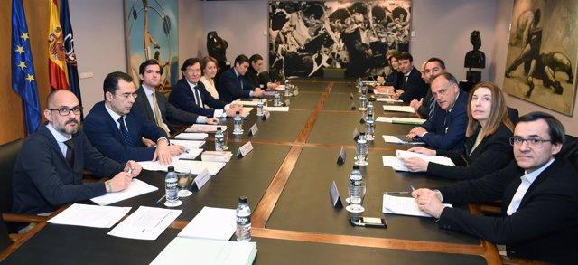 Miembros de la Comisión Directiva del CSD