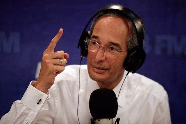 El presidente de Guatemala, Álvaro Colom