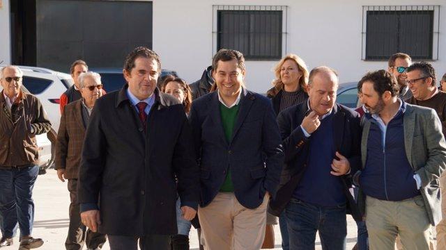 Juanma Moreno En Antequera