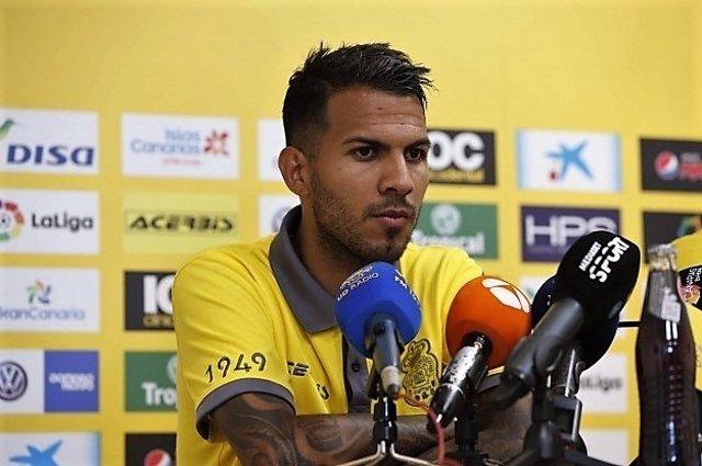 Jonathan Viera, jugador de Las Palmas