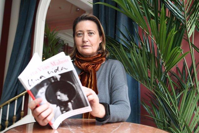 Entrevista con Berta Vias Mahou por su nueva novela Una vida prestada