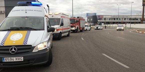 3. Dos mujeres resultan heridas leves en un accidente de tráfico por alcance en Badajoz