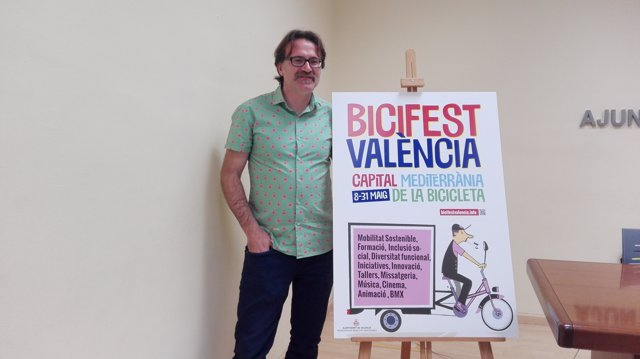El regidor Giuseppe Grezzi