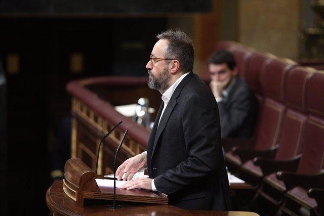 Juan Carlos Girauta interviene en el Congreso
