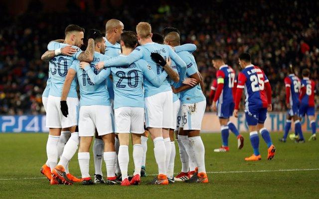 El Manchester City derrota al Basilea en Champions