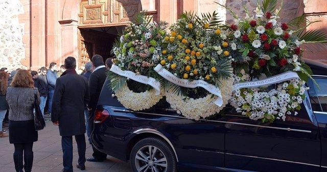 Funeral del joven