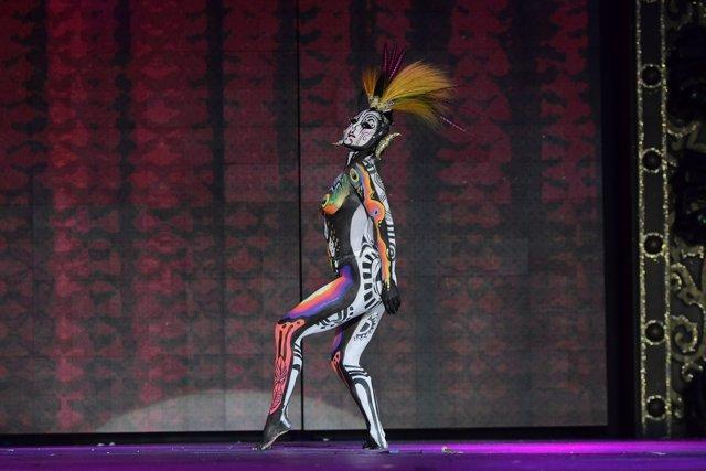 La obra 'Tambora' gana el Concurso de Maquillaje Corporal