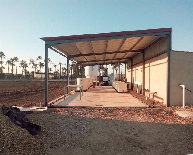 Instalaciones de la Cátedra de Agricultura Sostenible para el Campo de Cartagena