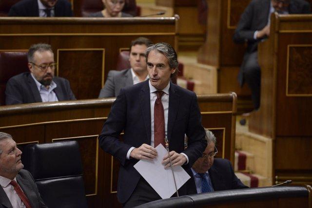 Iñigo De la Serna, ministro de Fomento
