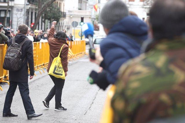 Mireia Boya arriba al Tribunal Suprem per declarar pel procés sobiranista