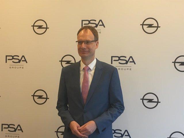 El consejero delegado de Opel, Michael Lohscheller