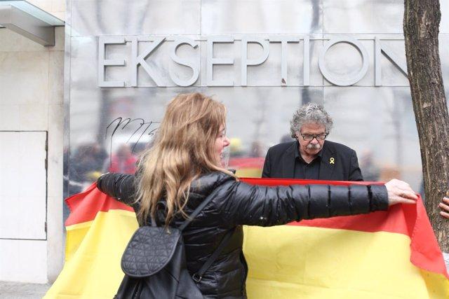 Joan Tarda a las puertas del Supremo por la declaración de Mireia Boya