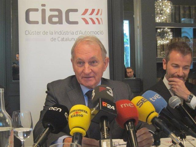 El presidente del Ciac, Josep Maria Vall