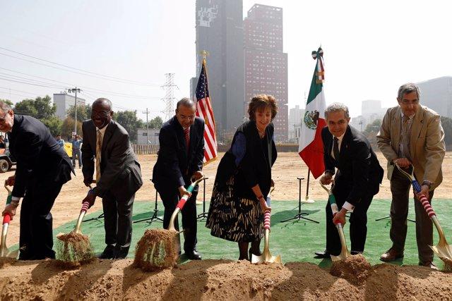 La embajadora de Estados Unidos en México, Roberta Jacobson