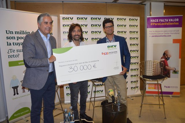 DKV Seguros consigue 30.000 € para construir el SJD Pediatric Cancer Center