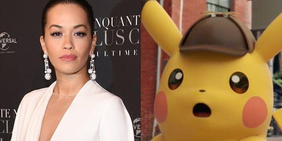 5. Rita Ora se une a Ryan Reynolds en la película de Pokémon, Detective Pikachu
