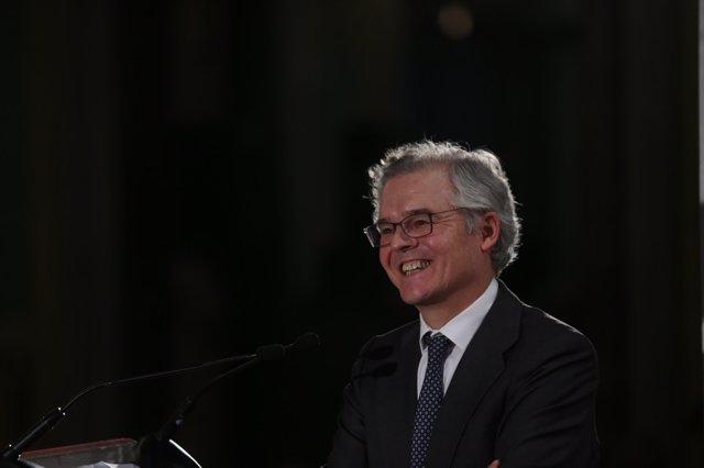 El presidente de la CNMV Sebastián Albella