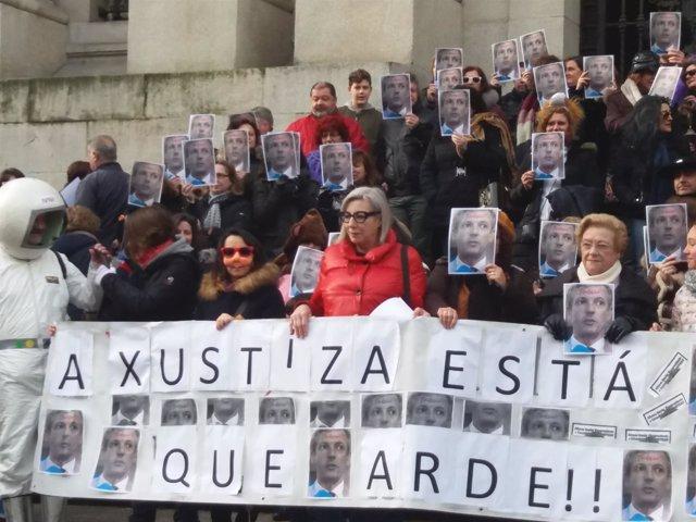 Huelga de la justicia en Galicia