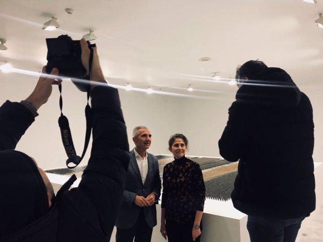 Vázquez presenta en el CAAC la exposición de la artista Ala Younis