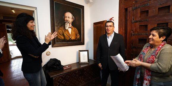 9. La Casa de Zorrilla incorpora un nuevo retrato del escritor donado por el pintor vallisoletano Sánchez Carnicero