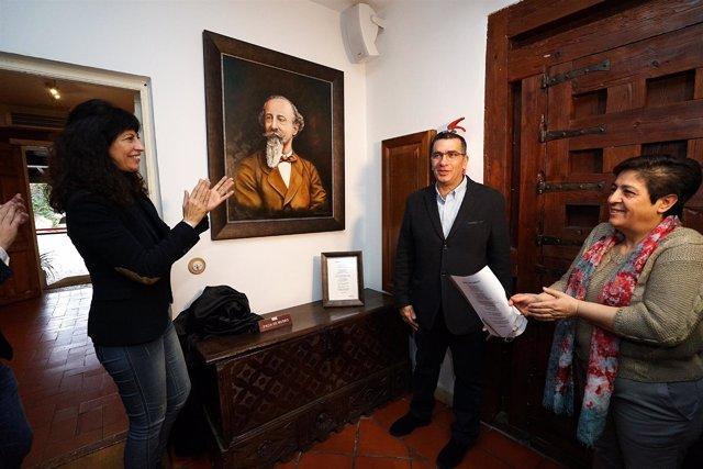 Nueva donación pictórica a la Casa de Zorrilla.