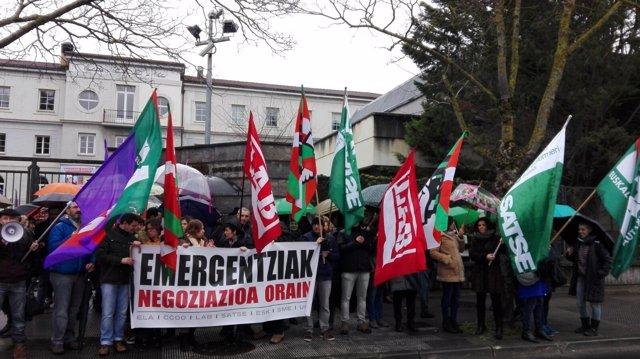 Movilizaciones en las Emergencias de Osakidetza