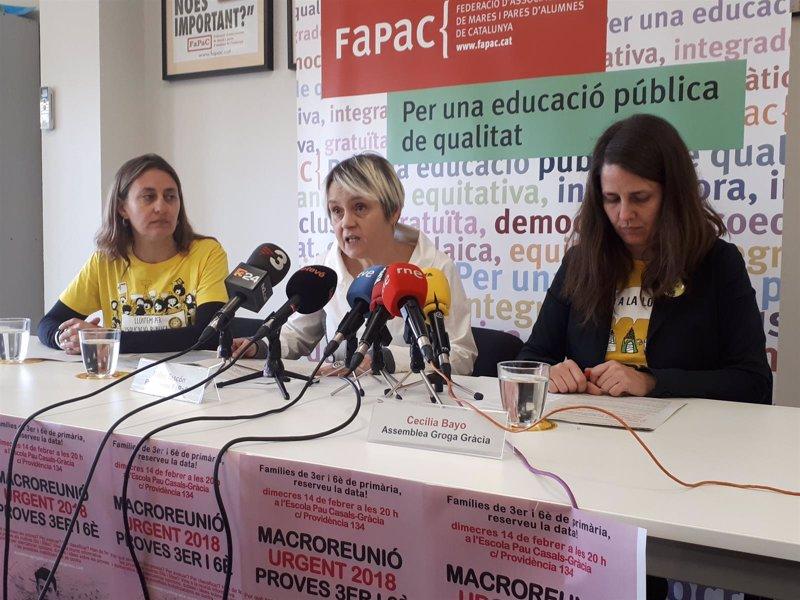 Padres de alumnos llaman a boicotear las evaluaciones de 3° y 6° de Primaria de Cataluña