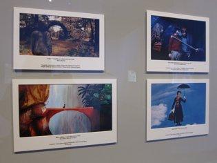 Algunas fotografías que se pueden ver en la exposi
