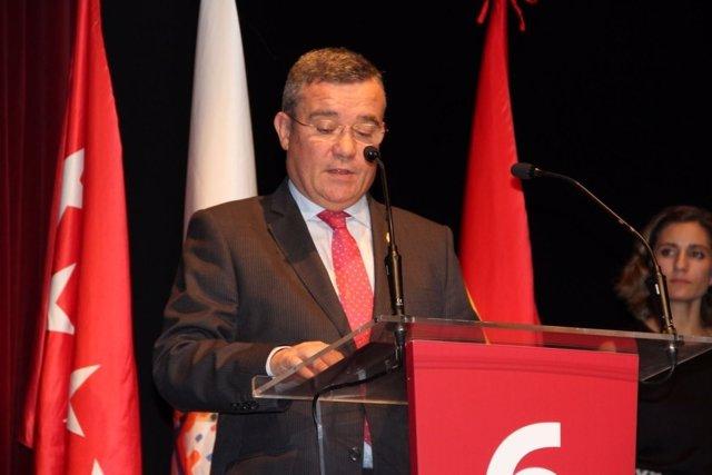 El presidente de la Federación Madrileña de Municipios (FMM)