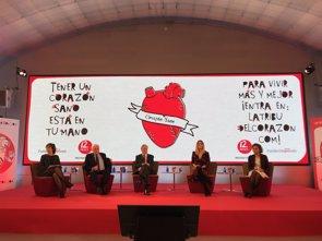 Fuster insiste en la importancia de promover la salud en niños, mujeres y mayores para prevenir enfermedades del corazón (EUROPA PRESS)