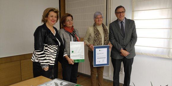5. Ocho centro de la provincia de Jaén reciben la certificación de la Agencia de Calidad Sanitaria de Andalucía