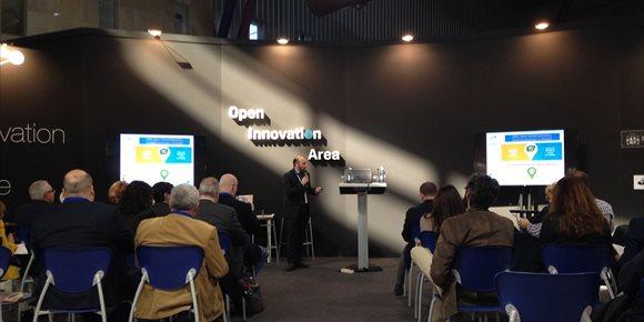 4. El portal Enfoca Jaén se expone en el Foro Transfiere, evento de referencia en innovación y tecnología