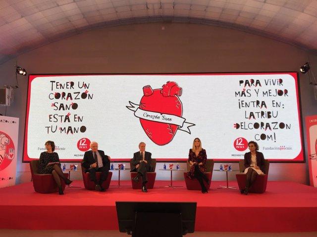 Presentación campaña de Mediaset España sobre el corazón
