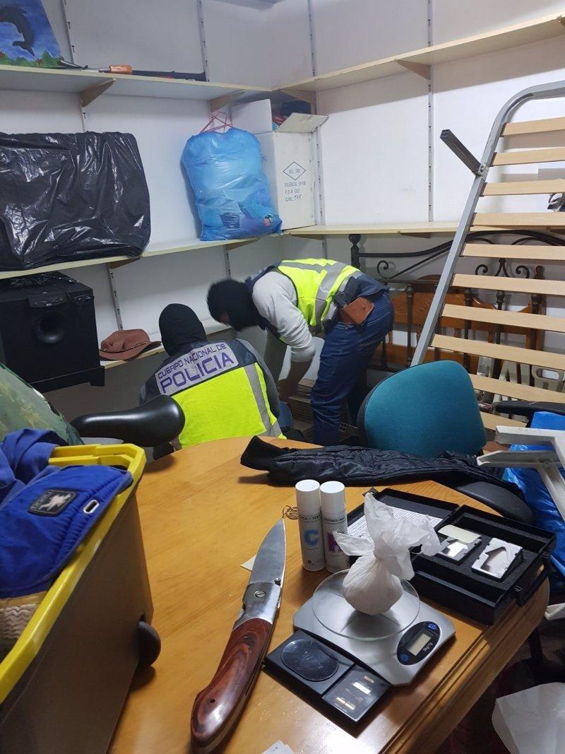 Detenidas tres personas en una operación antidroga en Los Narejos