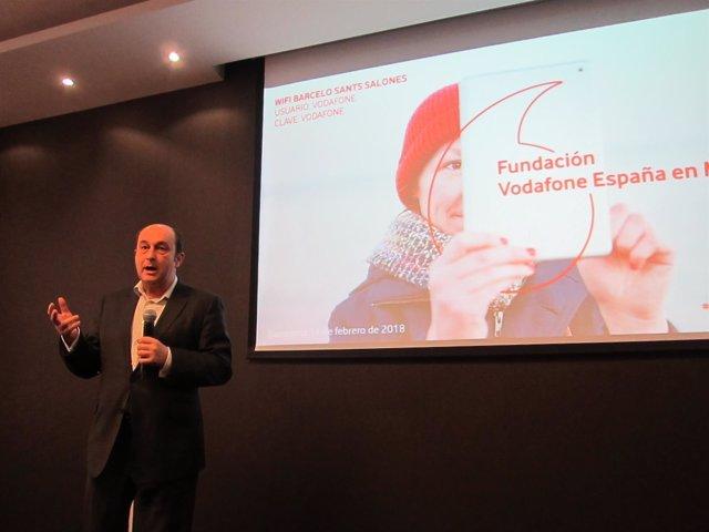 El director de la Fundación Vodafone, Santiago Moreno