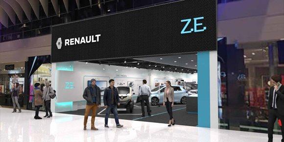 6. Renault abrirá su primera tienda europea dedicada al vehículo eléctrico en Estocolmo