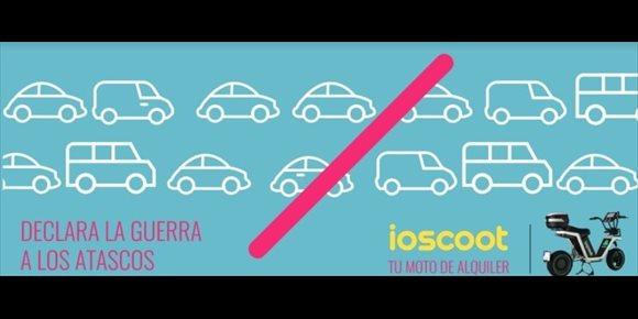 9. Evitar atascos y aparcar con facilidad, principales ventajas del 'moto sharing', según ioscoot
