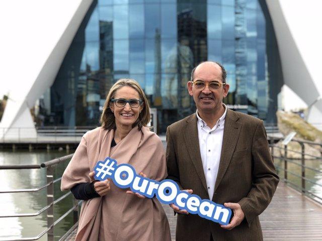 Presentación de la nueva campaña #OurOcean del Oceanográfic