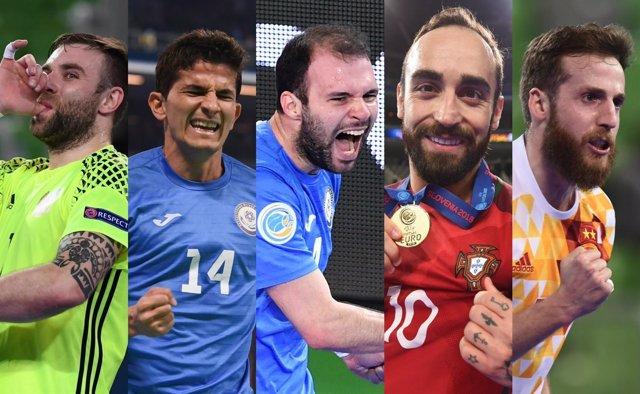 Quinteto ideal del Europeo de fútbol sala 2018