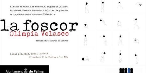 7. El Casal Solleric inaugura este viernes 'La Foscor', con la que Olimpia Velasco rinde homenaje a mujeres presas