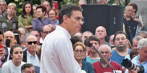 3. Sánchez participará el 21 en una asamblea abierta en Bilbao, que presentará Idoia Mendia