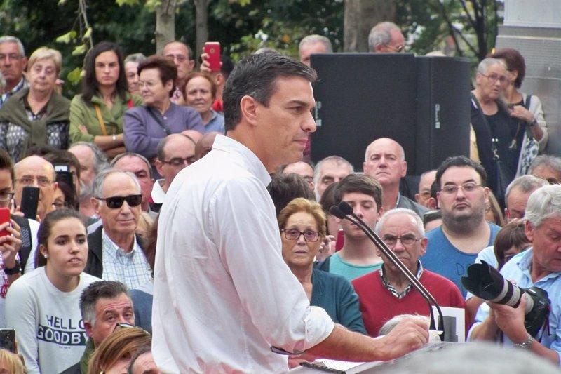Sánchez participará el 21 en una asamblea abierta en Bilbao, que presentará Idoia Mendia