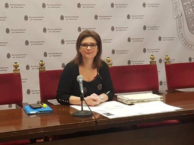 La concejal de Ciudadanos María del Mar Sánchez